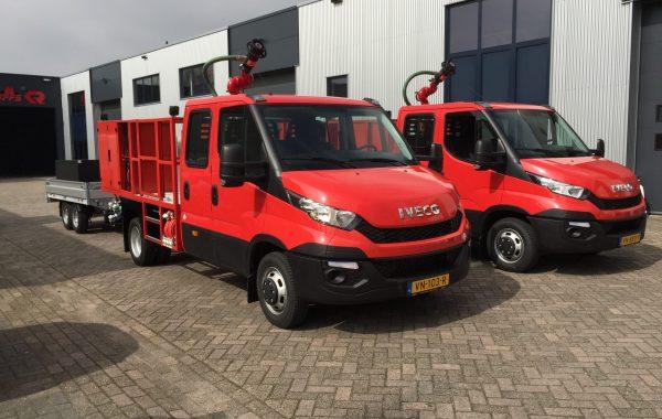 13.112 - 2x pick-up met SVM trailer (4)